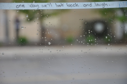 we'll look back and laugh
