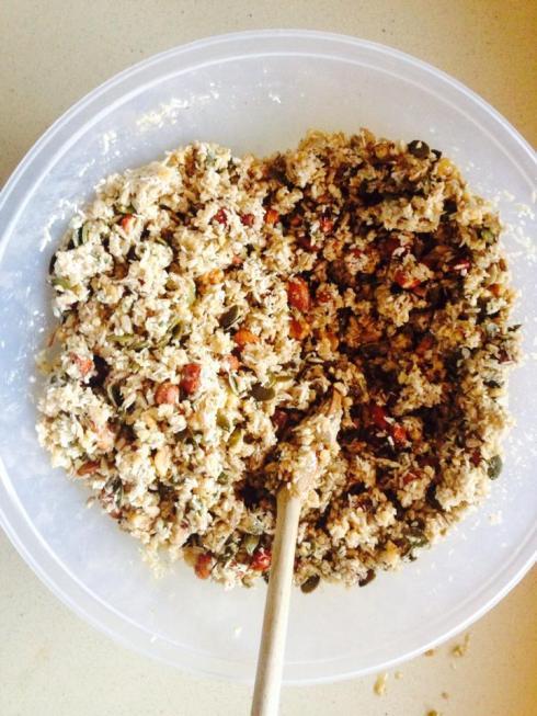 paleo granola crunch