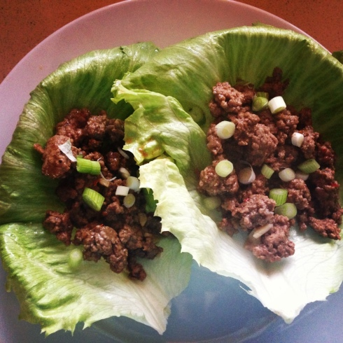 lettuce beef cups