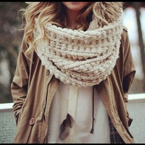 big chinky scarf